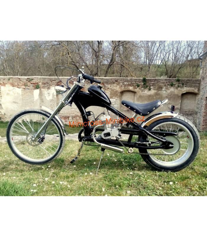274f7d0555e Moto kolo - motorové kolo Chopper 50cc černé
