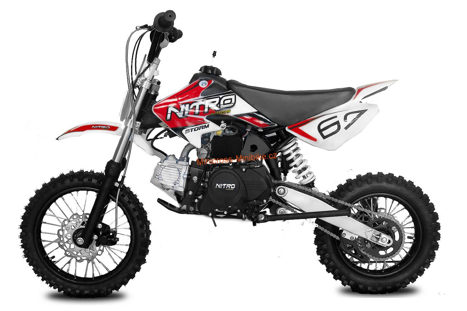 Pitbike Storm 14/12 125ccm red