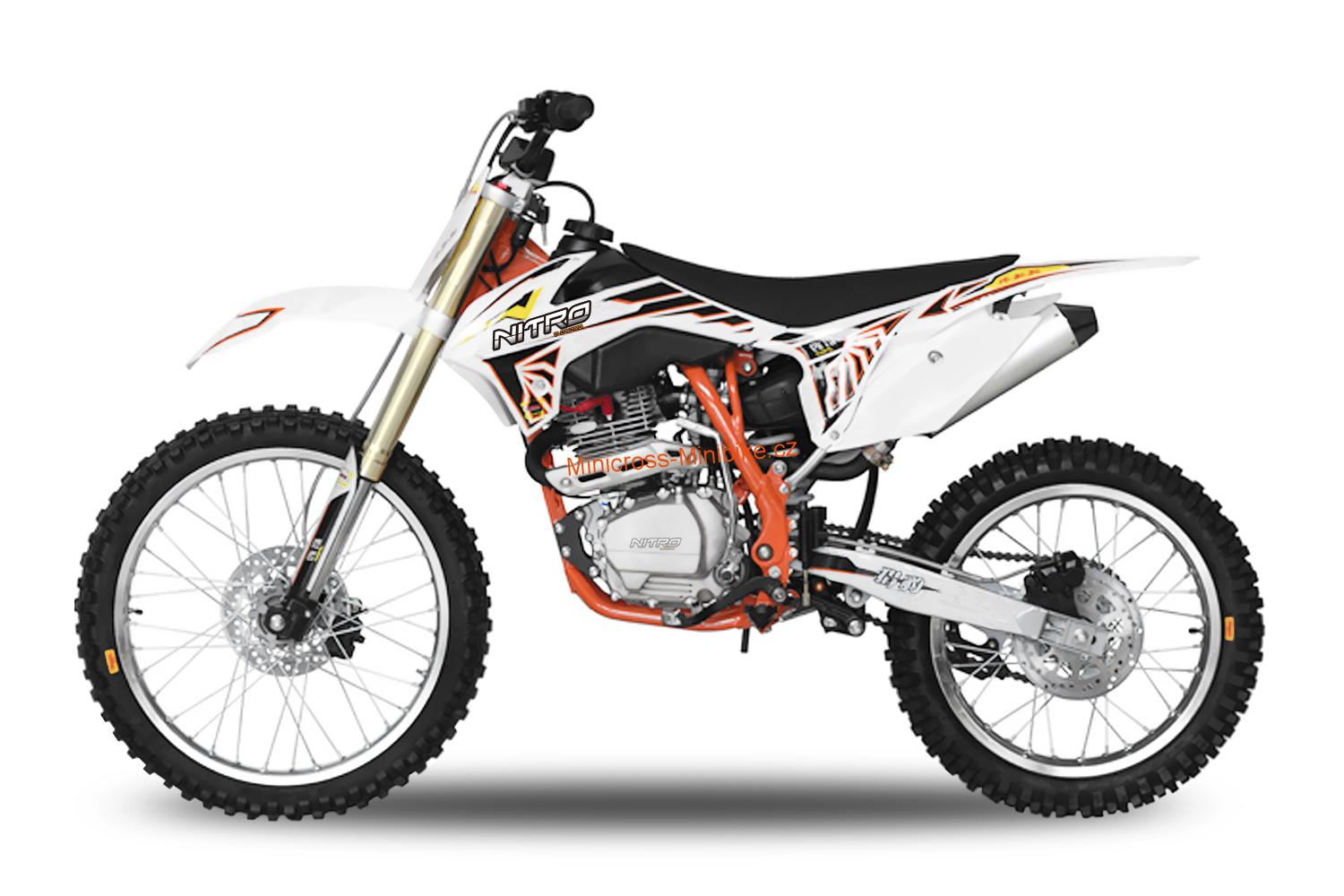 Pitbike Tornado 21/18  250ccm orange