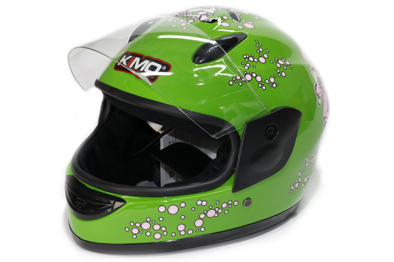 c02163305 Dětské moto rukavice zelené pro motocross, kolo, čtyřkolku a jiné stro