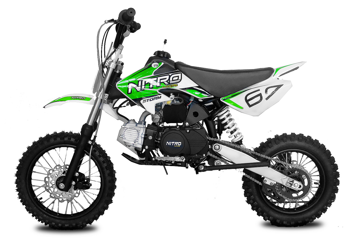 Pitbike Storm 14/12 125ccm green