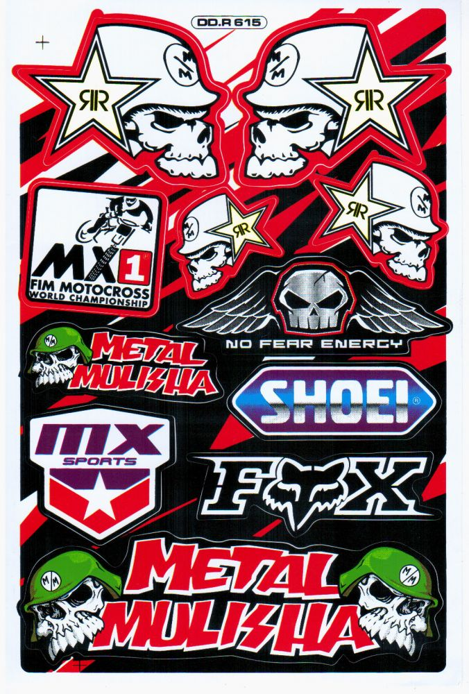 Polepy Fox Metal Mulisha
