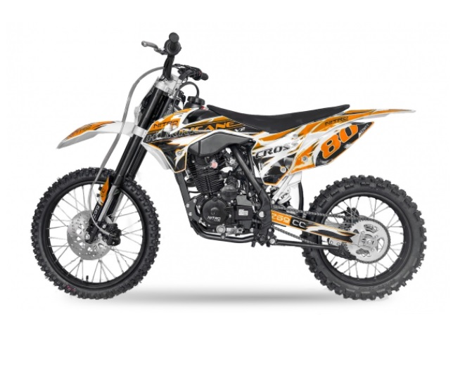 Pitbike Hurricane 19/16  150ccm orange